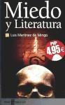Libro Miedo Y Literatura