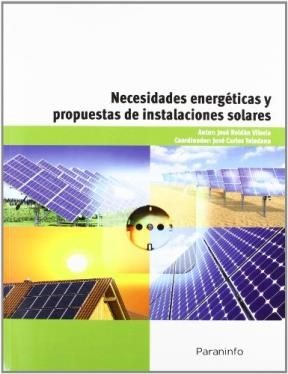 Libro Necesidades Energeticas Y Propuestas De Instalaciones Solares