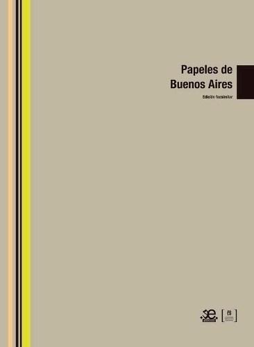 Libro Papeles De Buenos Aires