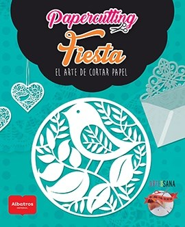 Libro Papercutting- Fiestas