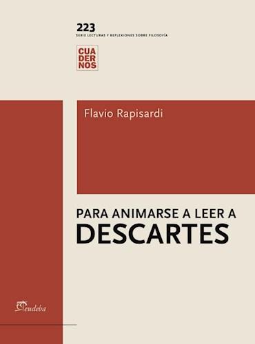 Libro Para Animarse A Leer A Descartes