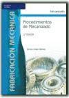 Libro Procedimientos De Mecanizado