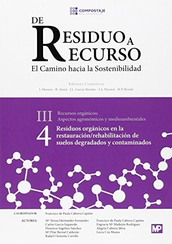 Libro Residuos Organicos Restauracion Rehabilitacion De Suelos Degradados Iii.4