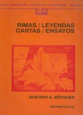 Libro Rimas / Leyendas / Cartas / Ensayos
