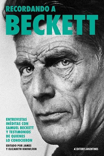 Libro Samuel Beckett, Recuerdos