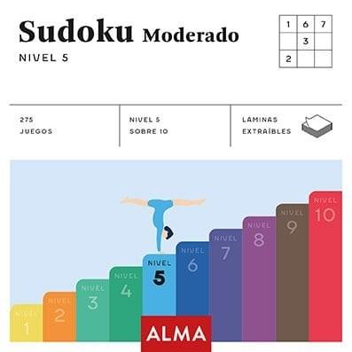 Libro Sudoku Moderado Nivel 5