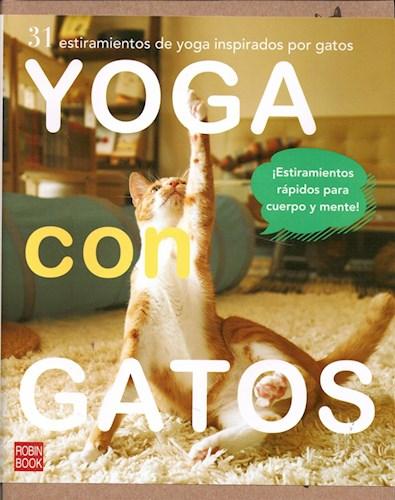 Libro Yoga Con Gatos