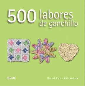 Libro 500 Labores De Ganchillo