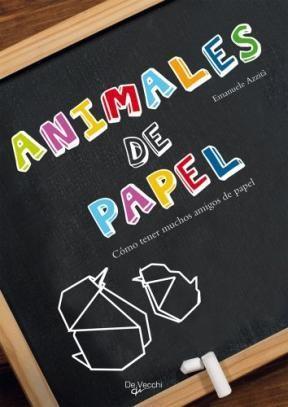 Libro Animales De Papel