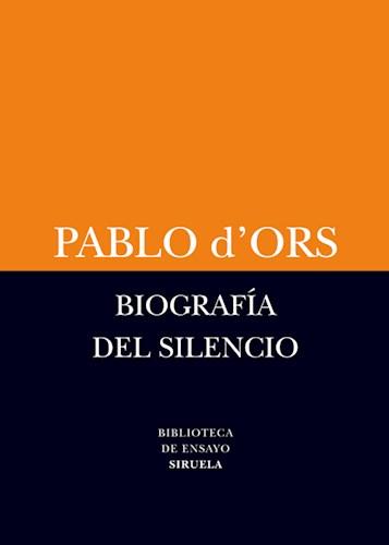 Libro Biografia Del Silencio (Coedicion)