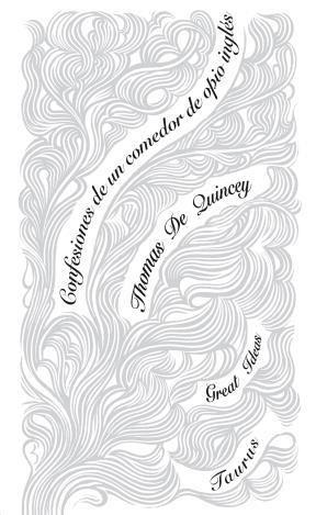 Libro Confesiones De Un Comedor De Opio Ingles