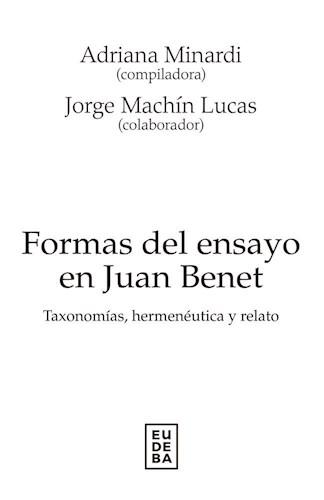 Libro Formas Del Ensayo En Juan Benet