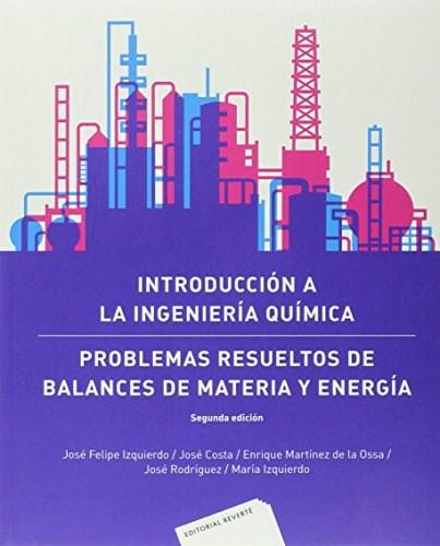 Libro Introduccion A La Ingenieria Quimica