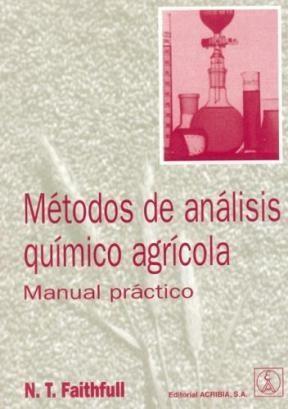 Libro Metodos De Analisis Quimico Agricola