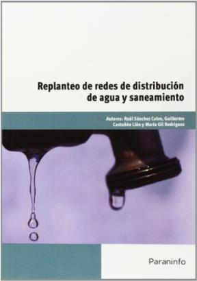 Libro Replanteo De Redes De Distribucion De Aguas Y Saneamiento