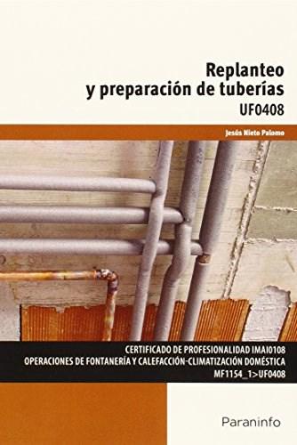 Libro Replanteo Y Preparacion De Tuberias