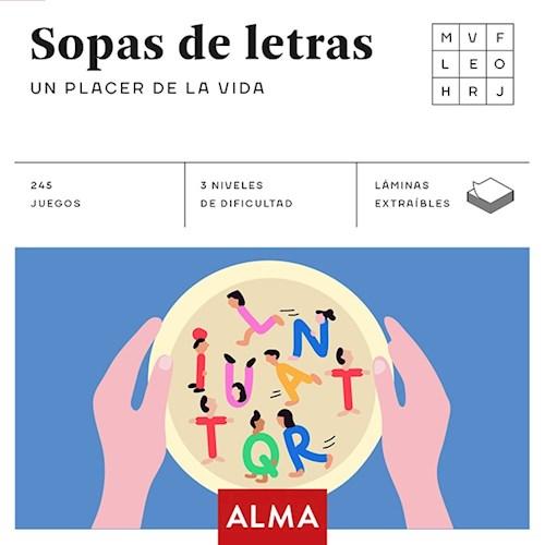 Libro Sopas De Letras : Un Placer De La Vida