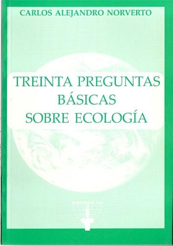 Libro Treinta Preguntas Basicas Sobre Ecologia