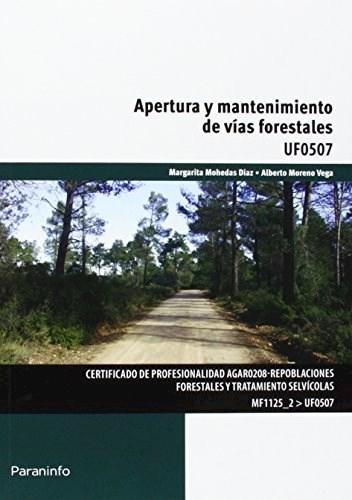 Libro Apertura Y Mantenimiento De Vias Forestales
