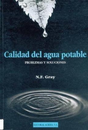 Libro Calidad Del Agua Potable
