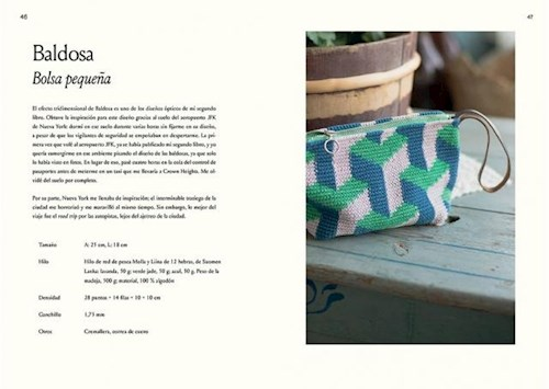 Libro Crochet In And Out .35 Dise/Os Para Disfrutar Al Aire Libre