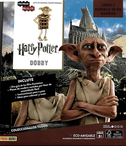 Libro Incredibuilds : Dobby ( Harry Potter )