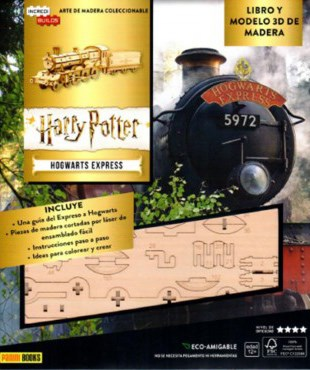 Libro Incredibuilds : Hogwarts Express ( Harry Potter )