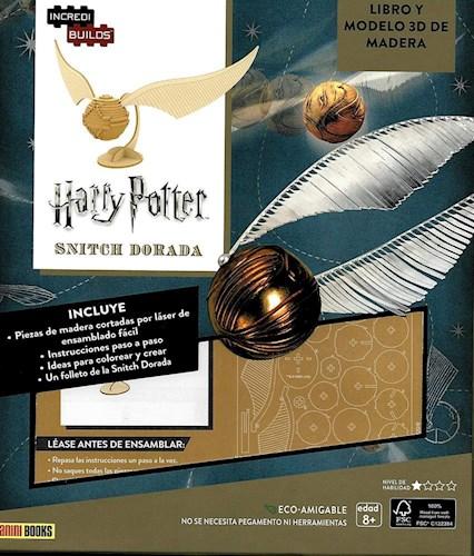 Libro Incredibuilds : Snitch Dorada ( Harry Potter )