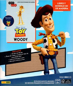 Libro Incredibuilds: Woody ( Toy Story )