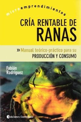 Libro Cria Rentable De Ranas