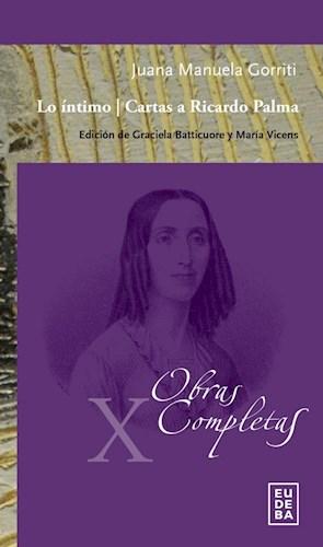 Libro Lo Intimo -Cartas A Ricardo Palma
