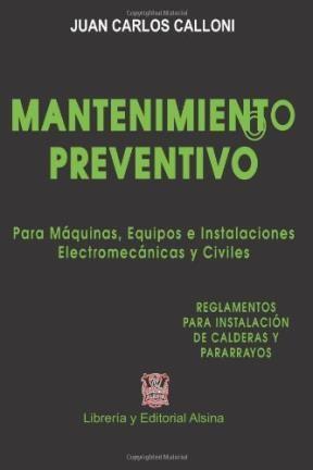Libro Mantenimiento Preventivo Para Maquinas Equipos E Instalaciones
