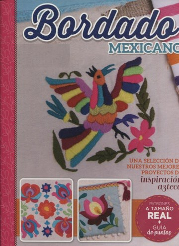 Libro Bordado Mexicano