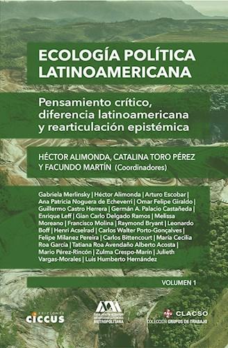 Libro Ecologia Politica Latinoamericana  Vol. 1