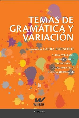Libro Temas De Gramatica Y Variacion