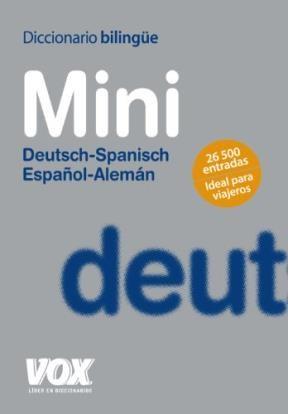 Libro Diccionario Bilingue Mini : Deutsch-Spanisch / Español-Aleman