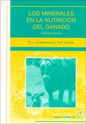 Libro Los Minerales En La Nutricion Del Ganado
