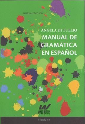 Libro Manual De Gramatica Del Español
