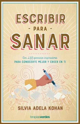 Libro Escribir Para Sanar