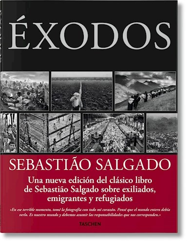 Libro Sebastiao Salgado  Exodos