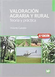 Libro Valoracion Agraria Y Rural