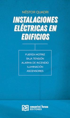 Libro Instalaciones Electricas En Edificios