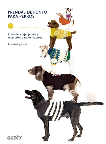 Libro Prendas De Punto Para Perros
