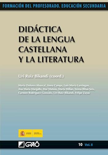 Libro Didactica De La Lengua Castellana Y La Literatura