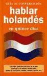 Libro Hablar Holandes