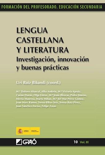 Libro Lengua Castellana Y Literatura. Investigacion, In