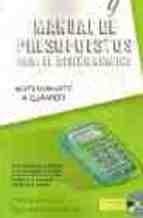 Libro Manual De Presupuestos Para El Diseño Grafico