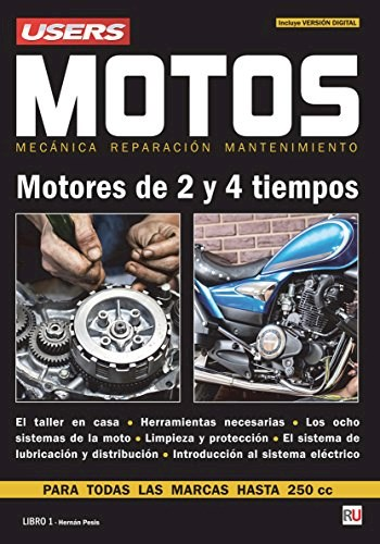 Libro Motos  Motores De 2 Y 4 Tiempos