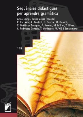 Libro Sequencies Didactiques Per Aprendre Gramatica