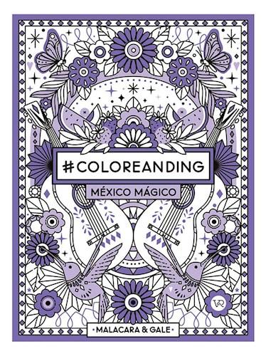 Libro Coloreanding Mexico Magico